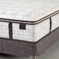 The handcrafted Aireloom Bedford Luxetop Plush Micro Coil Innerspring Sleep System delivers a majestic sleeping experience. The benefits that you will receive from this marvelous sleep system include incredible temperature regulation, outstanding motion isolation, and inconceivable pressure relief that will heal, soothe, rejuvenate, & restore your body night after night. #sleephappens #mattresswarehouse #aireloom