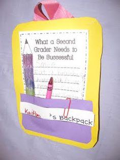 Beginning of the School Year Idea