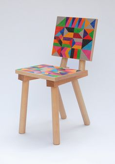 Phillips De Pury & Co chair.  David David in collaboration with Glass Hill.