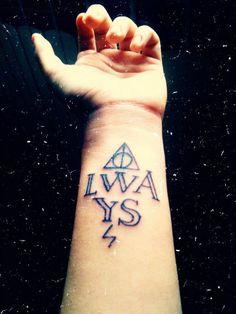 potter tattoo, tattoo hp, hp tattoo
