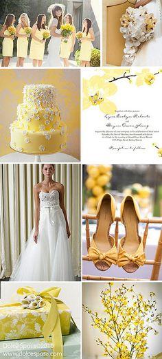 yellow-white-wedding