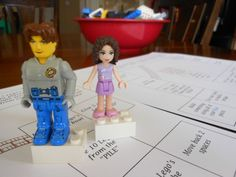 Lego Game… directions and a free printable Game Board!!!