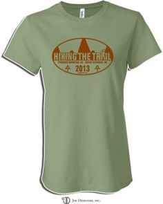 Order your Hiking The Trail t-shirt today. Proceeds from the sale of the shirts will go toward funding my Appalachian Trail Thru-hike and a portion will go to The Dusty Camel Young Explorers Grant.