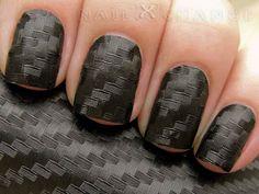 Carbon fiber nails.