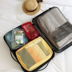 Luggage Mesh Bag Set