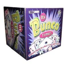 It's Bunco Time Board Game