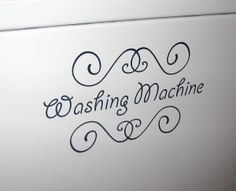 Washing machine Vinyl cutting