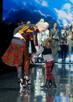 Gwen Stefani presents L.A.M.B. at New York Fashion Week