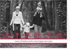Christmas card photo idea for a family