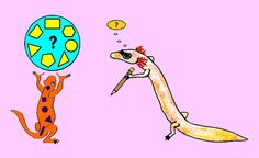 Math Riddles Thinking Salamanders