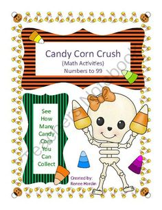 Math Game: Candy Corn Crush from Teach,Learn&CreateShoppe on TeachersNotebook.com -  (22 pages)  - Have you ever played the fun and addicting game, �Candy Crush Saga?�  Well here is an academic math game for your students to play while learning.