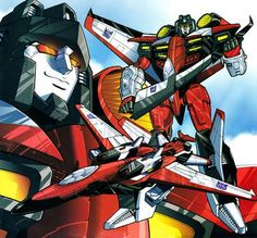 Transformers Armada Starscream