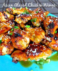 Asian Glazed Wings!  YUMMMM!