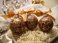 modge podge & tissue paper ornaments.