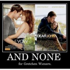 And none for Gretchen Wieners