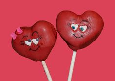 Red Heart Cake Pops