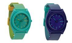"""Nixon Time Teller """"Dip-Dye"""" Collection"""