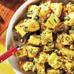Curried Potato Salad recipe