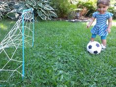 American Girl Doll Crafts and Fun!: How to Make a Doll Soccer Net