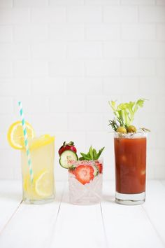 mocktails! (recipes and tips for making booze-free drinks)