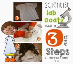 science lab coats http://foxwellforest.blogspot.com/2013/02/becoming-scientists-and-freebie.html scienc lab, science labs, lab coat