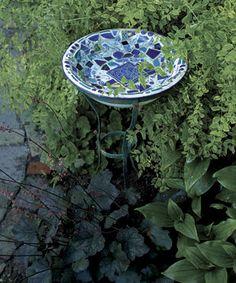 Making Mosaic Garden Art