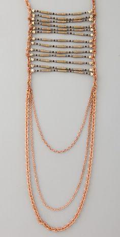 Aztec Breastplate Necklace