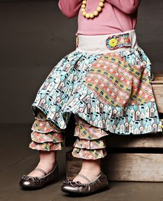 Modern Art Gabbi Skirt Matilda Jane Girls Clothing