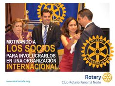 The Rotary Club of Panamá Norte is doing a great job of incorporating Rotary's new look into their materials. Visit their Facebook page: https://www.facebook.com/ClubRotarioPanamaNorte