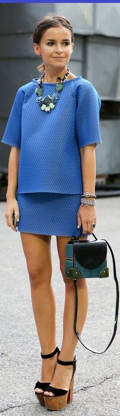 Blue Outfit