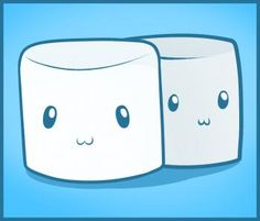How to Draw Marshmallows, Step by Step, Food, Pop Culture, FREE Online Drawing Tutorial, Added by Dawn, August 31, 2011, 1:19:27 pm