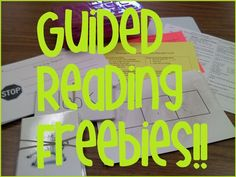 Kindergarten Guided Reading Freebies!!