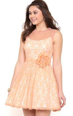 Deb Shops Short Lace...