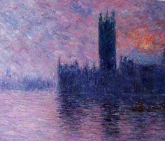 Claude Monet (1840-1926) pintor francés, el más notable paisajista del Impresionismo