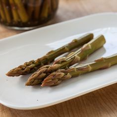 Refrigerator Asparagus Pickles Recipe