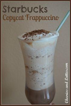 Starbucks Copycat Frappuccino