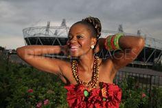 Congolese fashion designer Marie-Chance Gallimoni