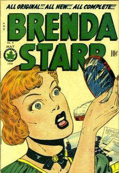 Cover for Brenda Starr Comics (1948 series) #8