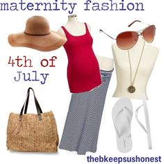 4th of july maternity outfits