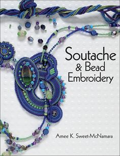 "Strike a ""cord"" with soutache embroidery and make these colorful and fun jewelry pieces today! $21.99"