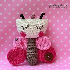 Crochet butterfly pattern.  $5.00 for pattern 6/14.