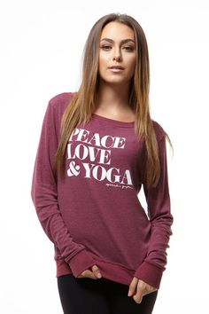 http://spiritualgangster.com/collections/whats-new/products/peace-love-yoga-savasana-pullover-henna