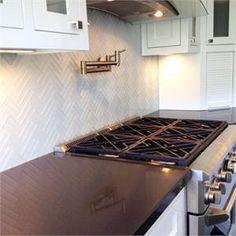 Soft White Glass Subway Tile in Cloud Weave | Modwalls Lush 1x4 Tile