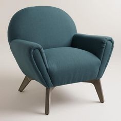 One of my favorite discoveries at WorldMarket.com: Blue Morrison Chair