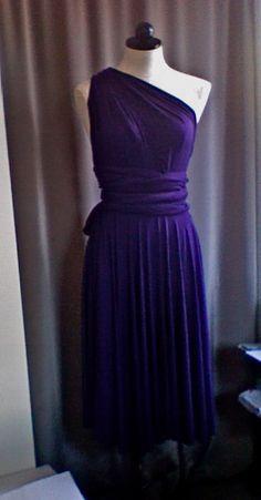 DIY Convertible Dress: How to: (aka wrap dress or infinity dress)