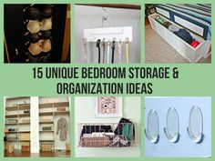 15 Unique Bedroom Storage & Organization Ideas diy ideas, organ idea, bedroom storage, bedroom idea, 15 uniqu, uniqu bedroom, storage organization, bedrooms, organization ideas