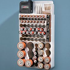 Battery Organizer with Tester – $14