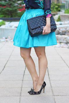 Flirty Blue Mini