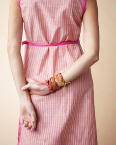 Braided Leather Cuff.    So cool and easy!