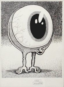 Did you see that? Basil Wolverton 1909-1978